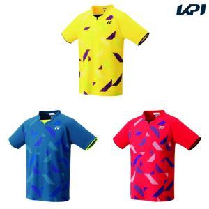 ヨネックス YONEX テニスウェア ユニセックス ゲームシャツ フィットスタイル  10315 2019SS|kpi24