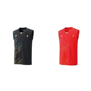 ヨネックス YONEX バドミントンウェア メンズ ゲームシャツ ノースリーブ  10322 2019SS|kpi24