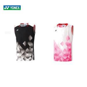 ヨネックス YONEX バドミントンウェア ジュニア ゲームシャツ ノースリーブ  10350J 2019FW [ポスト投函便対応]|kpi24