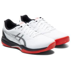アシックス asics テニスシューズ メンズ GEL-GAME 7 CLAY/OC オムニ・クレーコート用 1041A046-100|kpi24