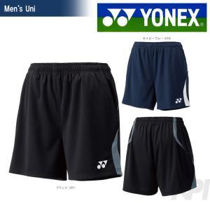 YONEX(ヨネックス)「Uni ニットストレッチショートパンツ 15043」ウェア|kpi24
