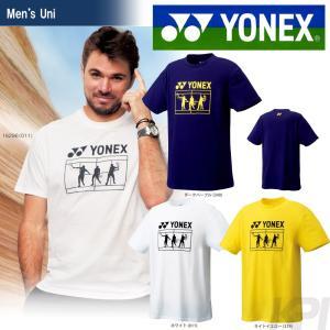 YONEX ヨネックス 「UNI Tシャツ 16296」ウェア「SS」『即日出荷』|kpi24