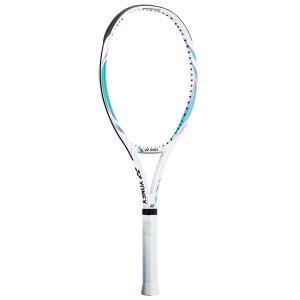 YONEX ヨネックス 硬式テニスラケット VCORE SPEED Vコア スピード ホワイト/ターコイズ 19VCS-682|kpi24