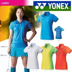「均一セール」『即日出荷』 YONEX ヨネックス 「Ladies ウィメンズポロシャツ スリムロングフィットタイプ  20298」テニス&バドミントンウェア[ネコポス可]|kpi24