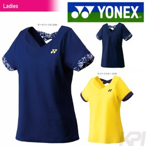 YONEX ヨネックス 「WOMEN レディース シャツ 20347」ウェア「SS」『即日出荷』|kpi24