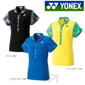 Yonex ヨネックス [レディース ウィメンズポロシャツ 20367]テニスゲームシャツ・パンツ ウェア「FW」『即日出荷』|kpi24