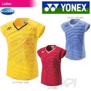 バドミントン ウェア レディース  ヨネックス YONEX フィットシャツ 20387 2017FW 2017新製品|kpi24