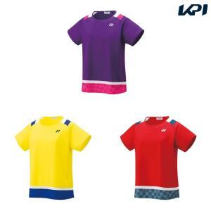 ヨネックス YONEX テニスウェア レディース ゲームシャツ 20484 2019SS|kpi24