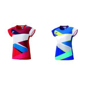 ヨネックス YONEX バドミントンウェア レディース ゲームシャツ フィットシャツ  20490 2019SS|kpi24