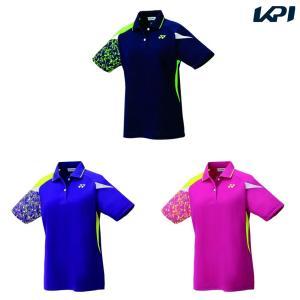ヨネックス YONEX テニスウェア レディース ゲームシャツ 20500 2019SS|kpi24