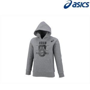 アシックス asics バスケットウェア ジュニア Jr.プリントスウェットフーディー 2064A007-020 2018FW|kpi24