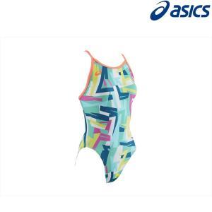 アシックス asics 水泳水着 レディース W'Sレギュラー 2162A006-300|kpi24