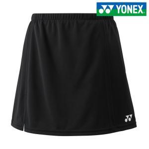 ヨネックス YONEX テニスウェア JUNIOR スカート/インナースパッツ付/両脇ポケット付 26046J-007 2018SS|kpi24