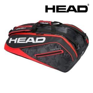 『即日出荷』ヘッド HEAD テニスバッグ・ケース  Tour Team 9R Supercombi 283118-BKRD|kpi24