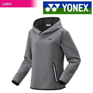 ヨネックス YONEX テニスウェア レディース スウェットパーカー 38051-010 2018FW|kpi24
