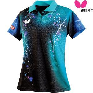 バタフライ Butterfly 卓球ウェア レディース 卓球 ゲームシャツ リリベル・シャツ 45309-123 2018SS[ポスト投函便対応]|kpi24