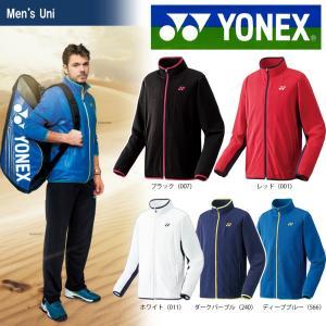 YONEX ヨネックス 「UNI ニットウォームアップシャツ フィットスタイル  50059」テニス&バドミントンウェア「SS」 『即日出荷』|kpi24