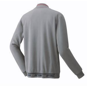 ヨネックス YONEX テニスウェア ユニセックス ニットウォームアップシャツ 50075 2019SS|kpi24|03