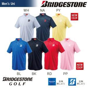 ブリヂストンゴルフ BRIDGESTONE ゴルフウェア メンズ 半袖ポロシャツ 55G01A|kpi24