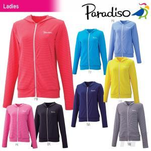 PARADISO パラディーゾ 「レディースUVパーカー 56CL5M」テニスウェア「SS」|kpi24
