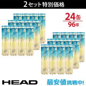 HEAD ヘッド 「HEAD PRO ヘッドプロ 4球入り2箱 24缶/96球  571614」テニスボール 『即日出荷』|kpi24