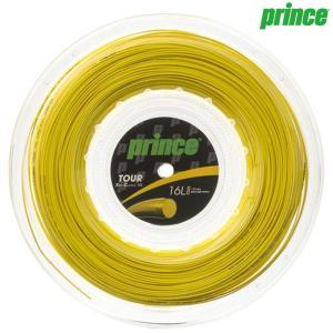 プリンス Prince テニスガット・ストリング  TOUR XC 16L  ツアーXC16L  200mロール 7J937|kpi24