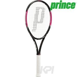 硬式テニスラケット プリンス Prince POWER LINE LADY 100 パワーラインレディ100 ST 7TJ034 2017新製品 ガット張り上げ済み kpi24