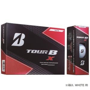 ブリヂストン BRIDGESTONE TOUR B ゴルフボール  TOUR B X パールホワイト 8BGXJ『即日出荷』|kpi24