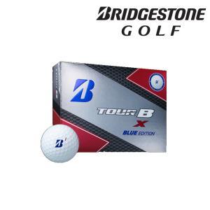 ブリヂストン BRIDGESTONE ゴルフボール TOUR B X BLUE EDITION ホワイト マーク:ブルー [1ダース:12個] 8BXXJ-WH 『即日出荷』|kpi24