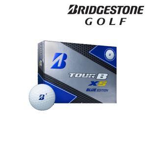 ブリヂストン BRIDGESTONE ゴルフボール TOUR B XS BLUE EDITION ホワイト マーク:ブルー [1ダース:12個] 8SXXJ-WH 『即日出荷』|kpi24