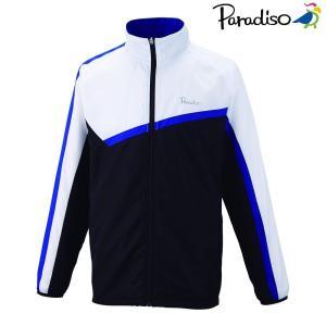 パラディーゾ PARADISO テニスウェア ユニセックス ウィンドブルゾン 98C03D 2018FW|kpi24