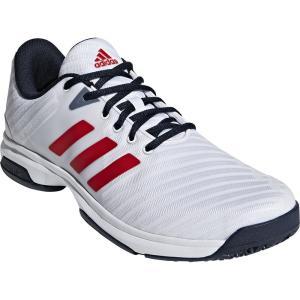 アディダス adidas テニスシューズ ユニセックス BARRICADE CODE COURT OC シューズ オムニ・クレーコート用 AH2078|kpi24