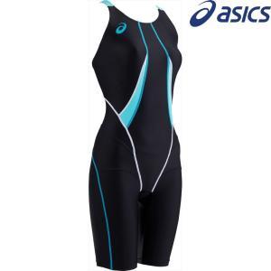 アシックス asics 水泳水着 レディース W'Sコアバランススパッツ ASL811-9046|kpi24