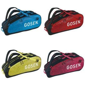 ゴーセン GOSEN テニスバッグ・ケース  ラケットバッグ Athlete6 BA19AR6|kpi24
