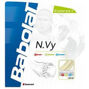 「■5張セット」Babolat(バボラ)「NVY125/130(エヌヴィ125/130) BA241087」硬式テニスストリング(ガット)|kpi24