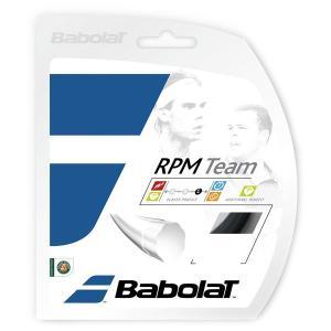 「■5張セット」BabolaT バボラ 「RPM TEAM RPMチーム 125/130 BA241108」硬式テニスストリング ガット|kpi24