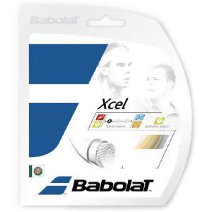 「■5張セット」BabolaT バボラ 「Xcel lエクセル 125/130/135 BA241110」硬式テニスストリング ガット|kpi24