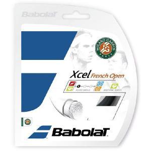 「■5張セット」BabolaT バボラ 「Xcel French Open エクセル フレンチオープン 125/130/135 BA241111」硬式テニスストリング ガット|kpi24
