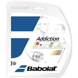 「■5張セット」BabolaT バボラ 「Addiction アディクション 125/130/135 BA241115」硬式テニスストリング ガット|kpi24