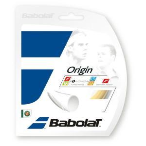 Babolat バボラ 「ORIGIN オリジン  BA241126 」硬式テニスストリング ガット [ネコポス可]『即日出荷』|kpi24