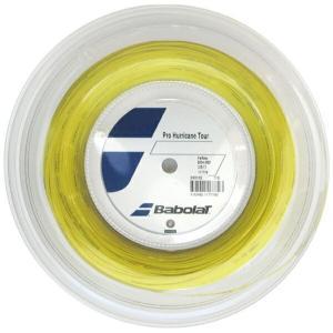 『即日出荷』BabolaT バボラ 「Pro Hurricane Tour プロハリケーンツアー 120/125/130/135 200mロール BA243102」硬式テニスストリング ガット|kpi24