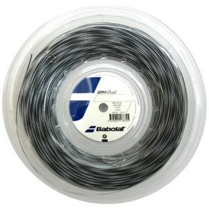『即日出荷』BabolaT バボラ 「RPM DUAL  RPMデュアル 125/130 200mロール BA243122」硬式テニスストリング ガット|kpi24