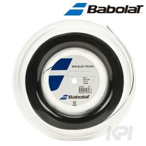 『即日出荷』「2017新製品」BabolaT バボラ 「RPM BLAST ROUGH RPM ブラスト ラフ 125/130 200mロール BA243136」硬式テニスストリング ガット|kpi24