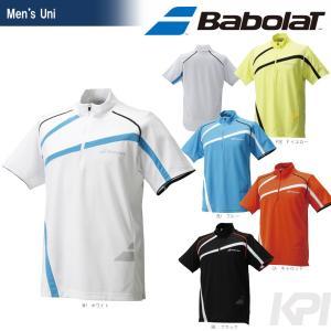 テニスウェア ユニセックス バボラ Babolat ジップアップゲームシャツ BAB-1615 2016SS [ネコポス可]|kpi24