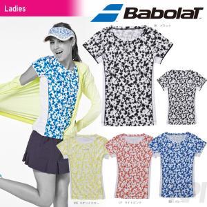 テニスウェア レディース バボラ Babolat Women's ゲームシャツ BAB-1644W 2016SS テニコレ掲載 [ネコポス可]|kpi24