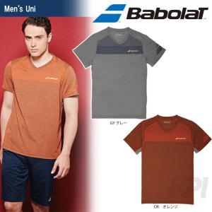テニスウェア ユニセックス バボラ Babolat ショートスリーブシャツ BAB-1701 2017SS 即日出荷 2017新製品|kpi24