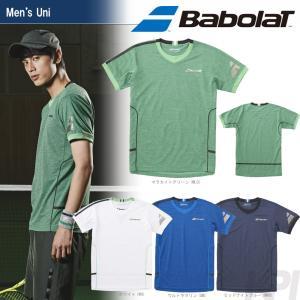 バボラ Babolat 「Unisex ショートスリーブシャツ BAB-1750」テニスウェア「2017FW」『即日出荷』|kpi24
