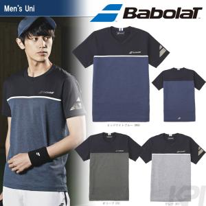 バボラ Babolat 「Unisex ショートスリーブシャツ BAB-1751」テニスウェア「2017FW」『即日出荷』|kpi24