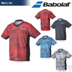 バボラ Babolat 「Unisex ショートスリーブシャツ BAB-1761」テニスウェア「2017FW」『即日出荷』|kpi24
