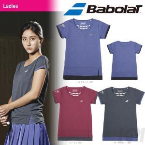 バボラ Babolat 「Women's レディース ショートスリーブシャツ BAB-1780W」テニスウェア「2017FW」『即日出荷』[ポスト投函便対応]|kpi24
